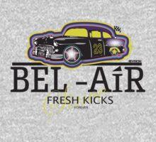 BEL AIR HERMES INSPIRED GRAPHIC W/FRESH PRINCE TWIST Kids Tee