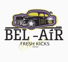 BEL AIR HERMES INSPIRED GRAPHIC W/FRESH PRINCE TWIST Kids Clothes