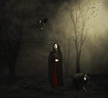 Tiptoe.... by Karen  Helgesen