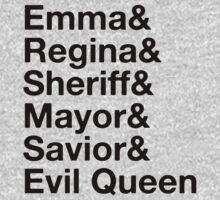 Swan Queen - Emma & Regina by SwanQueen