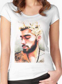 Zayn-selfie #1 Women's Fitted Scoop T-Shirt