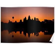 Angkor Wat at surise - 1 Poster