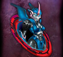 Arcee Ipad Case by Ryan Wilton