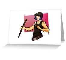 More Mori Greeting Card