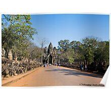 Temples around Angkor Wat - 1 Poster
