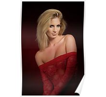 Rebecca - Red Poster