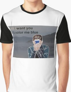connor franta ill color me blue  Graphic T-Shirt