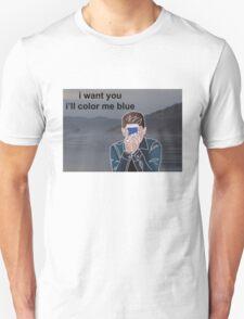 connor franta ill color me blue  T-Shirt