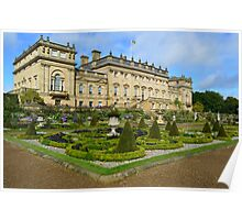 HAREWOOD HOUSE Poster