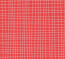 Red Crosshatch by kwg2200
