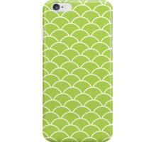 Green Fish Scales iPhone Case/Skin