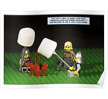 Giant Marshmallows Poster