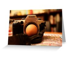 THE EGG Greeting Card