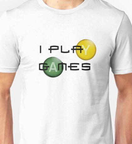 I Play Games-XBox Unisex T-Shirt