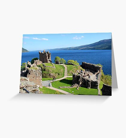 Urquhart Castle - Loch Ness Greeting Card