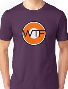 WTF road sign Unisex T-Shirt
