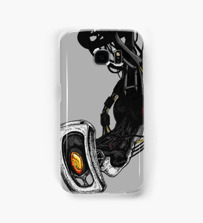 GLaDOS pinup (Original illustration) Samsung Galaxy Case/Skin