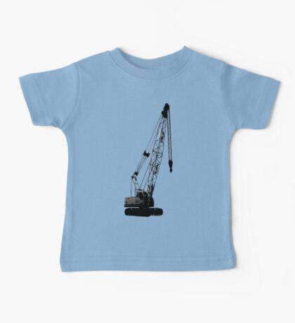 black crane Baby Tee