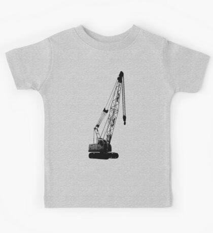 black crane Kids Tee