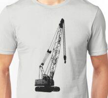 black crane Unisex T-Shirt