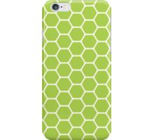 Green Honeycomb iPhone Case/Skin