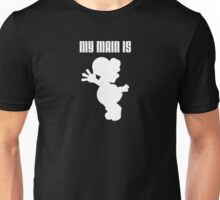 My Main Is Yoshi (Smash Bros) Unisex T-Shirt