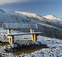 Wither Hills Snow by Christopher Cookson