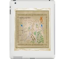 Hobbit Map. iPad Case/Skin