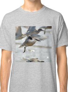 Dunlin (Calidris alpina) - Crosby Beach, UK Classic T-Shirt