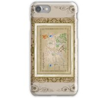 Hobbit map. iPhone Case/Skin