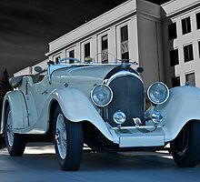 1927 Bentley Roadster by DaveKoontz