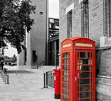 Red Telephone & Post Box by StephenRphoto