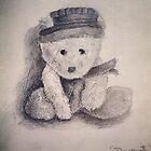 Teddy with a Hat by littlebearpooky