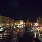 Busy night on the Grand Canal by Bryan Peterson