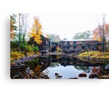 Autumn Downstream Canvas Print