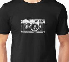 Leica White Transparent Outline Unisex T-Shirt