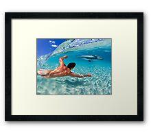 Play Beneath The Waves Framed Print