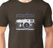 Strayfoto Meh It's A Hobby Logo Design Unisex T-Shirt