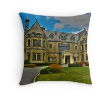 Glitter That Was Once Gold - Sefton Manor Throw Pillow