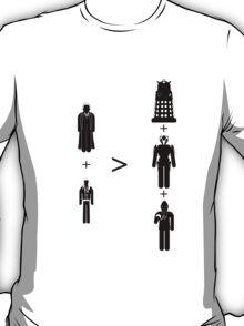 Doctor Who Maths - Season 2, Rose T-Shirt
