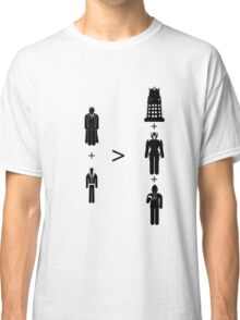 Doctor Who Maths - Season 2, Rose Classic T-Shirt