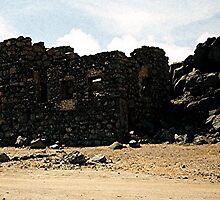Aruba Carribean Island Beach Scene by Oldetimemercan