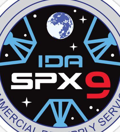 SpX-9 CRS Logo Sticker