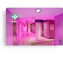 Station Search Canvas Print