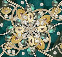 Luxury Ornate Decorative by DFLC Prints
