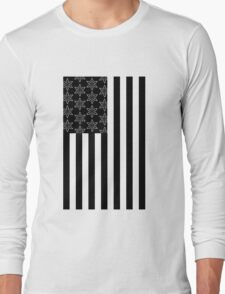 Ninja Stars & Stripes Long Sleeve T-Shirt