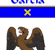 Garcia Coat of Arms/Family Crest Sticker