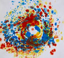 Spiral Spillage 04 - Painting by dab88
