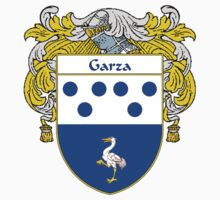 Garza Coat of Arms/Family Crest by William Martin