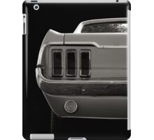 Wild Pony black&white iPad Case/Skin